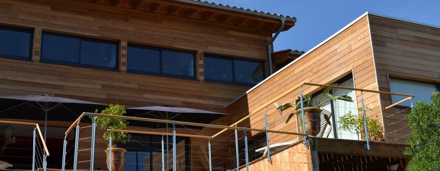 axebois constructeur de maisons ossature bois dans l